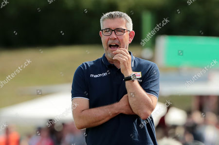 Trainer Urs Fischer   / DFB Pokal 1.round / 2019/2020 / 11.08.2019 / VfB Germania Halberstadt vs. 1.FC Union Berlin FCU / DFL regulations prohibit any use of photographs as image sequences and/or quasi-video. /