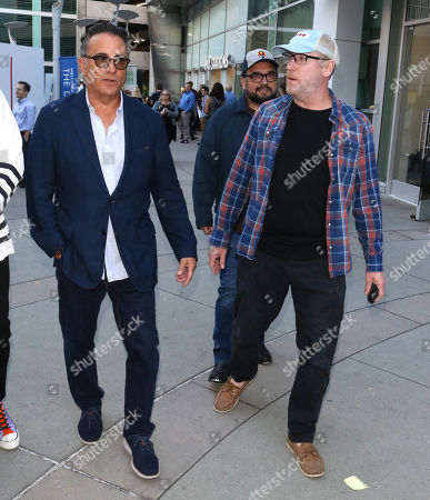 Andy Garcia, Matt Walsh and Horatio Sanz