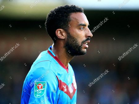 Editorial picture of Scunthorpe United v Derby County, EFL Carabao Cup, First Round football match, Glanford Park, Scunthorpe, UK - 13 Aug 2019
