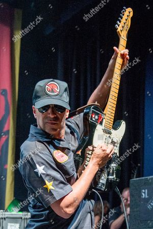 Stock Picture of Prophets Of Rage - Tom Morello of Rage Against The Machine