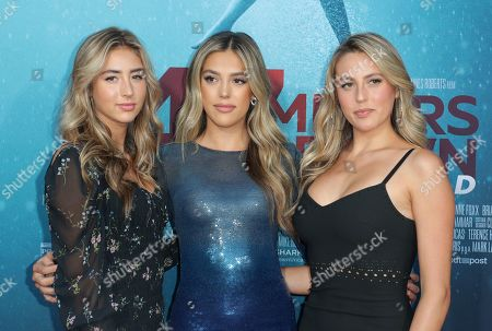 Scarlet Rose Stallone, Sistine Rose Stallone and Sophia Rose Stallone