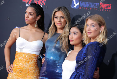 Corinne Bishop, Sistine Rose Stallone, Brianne Tju and Sophie Nelisse