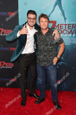 James Nunn and Luke Hemsworth