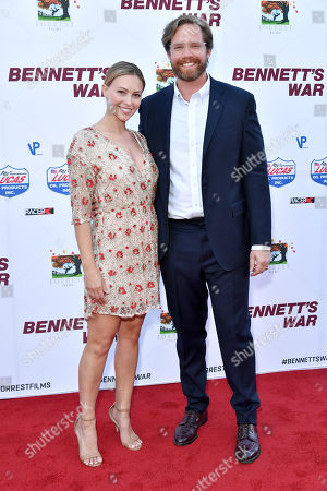 Stock Picture of Courtney Hope Turner and Alexander Hammond