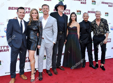 Alex Ranarivelo, Christina Moore, Michael Roark, Trace Adkins, Allison Paige, Ali Afshar and Hunter Clowdus
