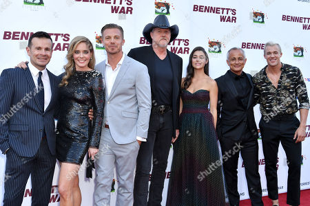 Stock Image of Alex Ranarivelo, Christina Moore, Michael Roark, Trace Adkins, Allison Paige, Ali Afshar and Hunter Clowdus