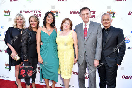 Stock Picture of Charlotte Lucas, Forrest Lucas, Ali Afshar and guests