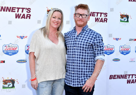 Stock Picture of Zack Ward and guest