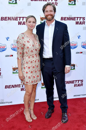 Editorial photo of 'Bennett's War' film premiere, Arrivals, Warner Bros. Studios, Los Angeles, USA - 13 Aug 2019