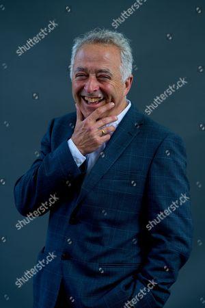 Stock Photo of English screenwriter and novelist Frank Cottrell Boyce