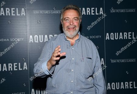 """Restaurateur Drew Nieporent attends a special screening of """"Aquarela"""", hosted by Sony Pictures Classics and The Cinema Society, at Regal Essex Crossing, in New York"""
