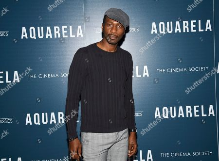 """Leon Robinson attends a special screening of """"Aquarela"""", hosted by Sony Pictures Classics and The Cinema Society, at Regal Essex Crossing, in New York"""