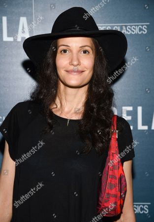 "Claudia Mason attends a special screening of ""Aquarela"", hosted by Sony Pictures Classics and The Cinema Society, at Regal Essex Crossing, in New York"