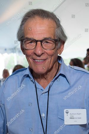 Stock Photo of Robert Caro attends East Hampton Library's 15th annual Authors Night fundraiser, in Amagansett, NY