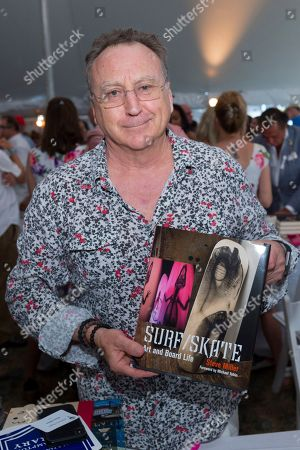 Steve Miller attends East Hampton Library's 15th annual Authors Night fundraiser, in Amagansett, NY