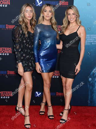 Scarlet Rose Stallone, Sistine Rose Stallone and Sophia Rose Stallone