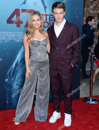 Editorial photo of '47 Meters Down: Uncaged' film premiere, Arrivals, Regency Village Theatre, Los Angeles, USA - 13 Aug 2019
