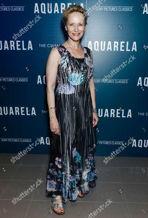 Editorial photo of 'Aquarela' Film screening, Arrivals, New York, USA - 13 Aug 2019