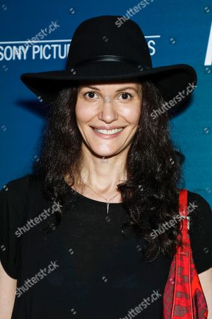 Editorial picture of 'Aquarela' Film screening, Arrivals, New York, USA - 13 Aug 2019