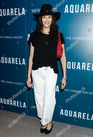 Editorial photo of 'Aquarela' Film screening, Arrivals, New York, USA - 13 Aug 2019
