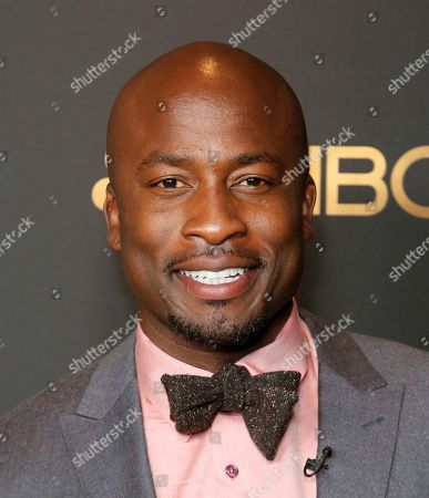 Akbar Gbajabiamila attends the NBC and Universal Television Emmy Nominee Celebration at Tesse, in West Hollywood, Calif