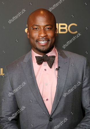 Stock Photo of Akbar Gbajabiamila attends the NBC and Universal Television Emmy Nominee Celebration at Tesse, in West Hollywood, Calif