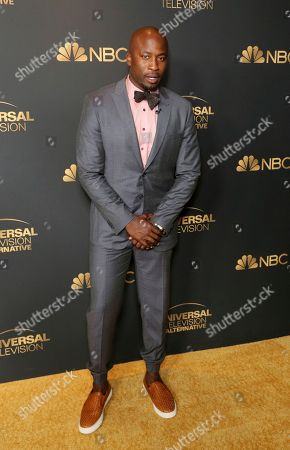 Stock Image of Akbar Gbajabiamila attends the NBC and Universal Television Emmy Nominee Celebration at Tesse, in West Hollywood, Calif