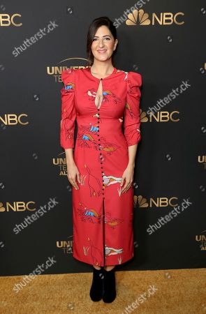 D'Arcy Carden attends the NBC and Universal Television Emmy Nominee Celebration at Tesse, in West Hollywood, Calif