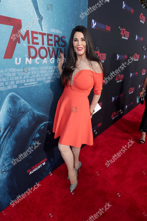 Editorial image of Entertainment Studios Motion Pictures '47 Meters Down: Uncaged' film premiere at Regency Village Theatre, Los Angeles, USA - 13 Aug 2019