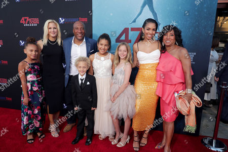 Jennifer Lucas, Byron Allen, Founder, Chairman, and Chief Executive Officer, Entertainment Studios, Corinne Bishop, Carolyn Folks, Executive Producer,