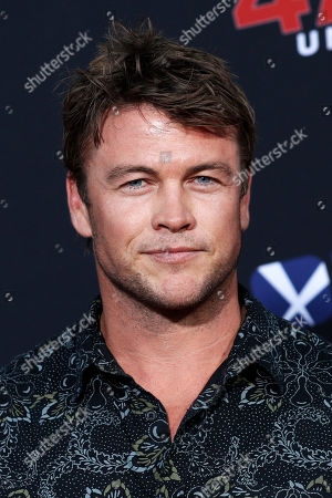 Luke Hemsworth poses for photos prior to the premiere of '47 Meters Down: Uncaged' at the Regency Village Theatre in Los Angeles, California, USA, 13 August 2019. '47 Meters Down: Uncaged' will be released in US theater on 16 August.