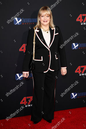 Candy Spelling poses for photos prior to the premiere of '47 Meters Down: Uncaged' at the Regency Village Theatre in Los Angeles, California, USA, 13 August 2019. '47 Meters Down: Uncaged' will be released in US theater on 16 August.