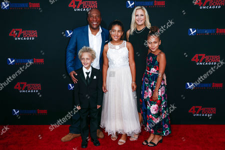 Editorial picture of 47 Meters Down: Uncaged, premiere ? Arrivals, Los Angeles, USA - 13 Aug 2019