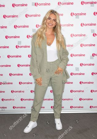Editorial image of 'Lorraine' TV show, London, UK - 14 Aug 2019