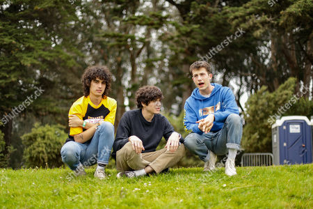 Stock Picture of Wallows - Cole Preston, Braeden Lemasters, Dylan Minnette