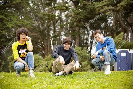 Stock Image of Wallows - Cole Preston, Braeden Lemasters, Dylan Minnette