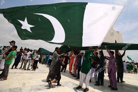 Independence Day celebrations Pakistan Stock Photos