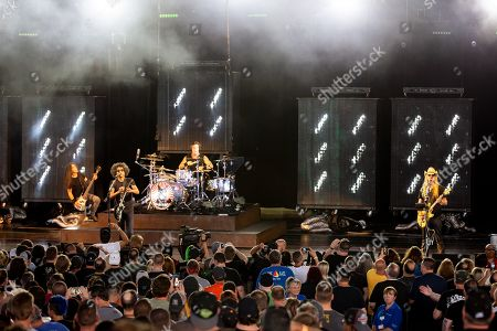 Editorial image of Alice In Chains in concert, DTE Energy Music Theatre, Clarkston, USA - 13 Aug 2019