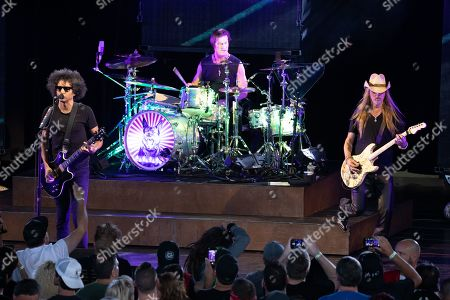 Stock Picture of Alice In Chains - William DuVall, Sean Kinney, Jerry Cantrell