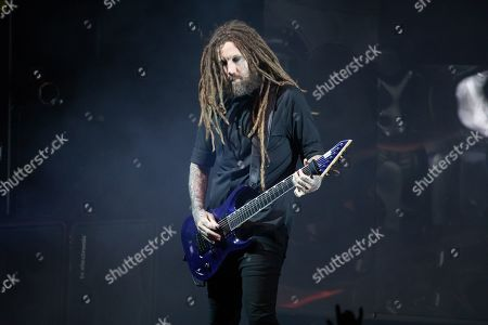 Editorial picture of Korn in concert, DTE Energy Music Theatre, Clarkston, USA - 13 Aug 2019