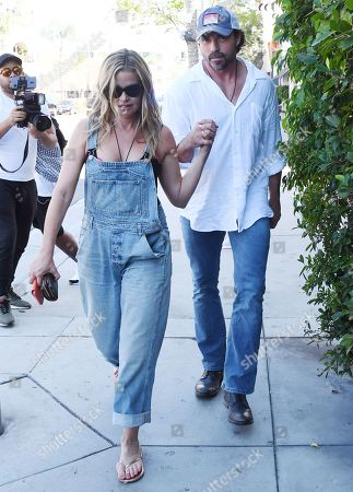 Stock Picture of Denise Richards, Aaron Phypers