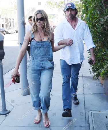 Editorial image of Denise Richards and Aaron Phypers out and about, Los Angeles, USA - 13 Aug 2019