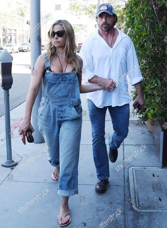 Stock Image of Denise Richards, Aaron Phypers