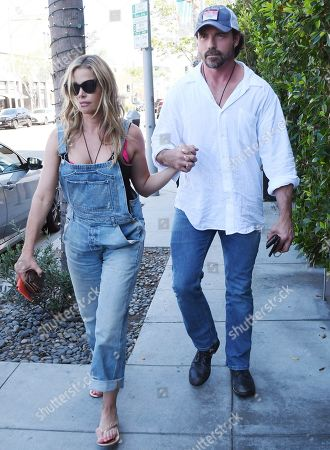Editorial picture of Denise Richards and Aaron Phypers out and about, Los Angeles, USA - 13 Aug 2019