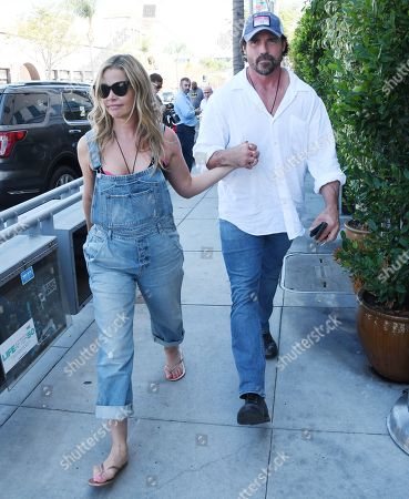 Editorial photo of Denise Richards and Aaron Phypers out and about, Los Angeles, USA - 13 Aug 2019