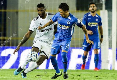 Editorial image of Atromitos FC vs Legia Warsaw, Athens, Greece - 14 Aug 2019