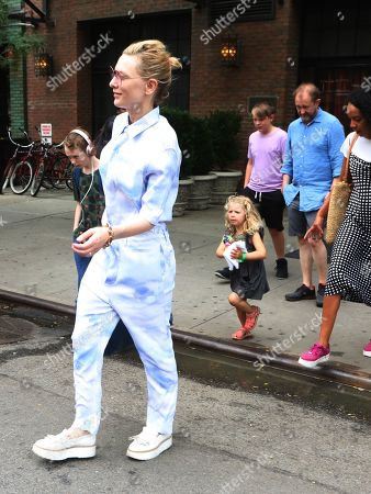 Editorial picture of Cate Blanchett out and about, New York, USA - 14 Aug 2019