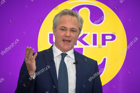 New UKIP leader press conference, London