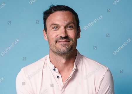 "Brian Austin Green poses for a portrait at The Associated Press, in New York City. Green says if Tori Spelling and Jennie Garth, along with the other creators of ""BH90210,"" had approached him with a standard reboot of the 90s drama, he would've said no"