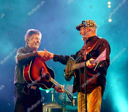 Joe Brown and Dave Pegg from Fairport Convention
